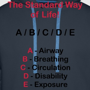 The Stadard Way of Life - ABCDE Shema - Männer Premium Hoodie