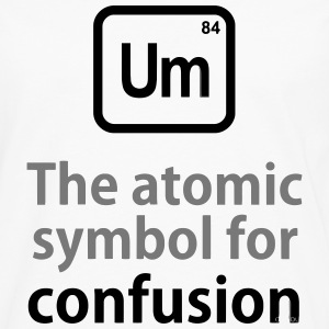 THE CHEMICAL ELEMENT OF CONFUSION T-shirts - Långärmad premium-T-shirt herr