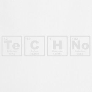 TECHNO PERIODIC TABLE Top - Grembiule da cucina