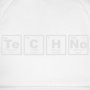 TECHNO PERIODIC TABLE T-skjorter - Baseballcap