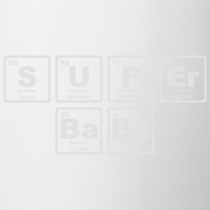 SUPERBABE PERIODIC TABLE OF THE ELEMENTS Tanktoppar - Mugg