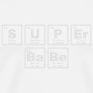 SUPERBABE PERIODIC TABLE OF THE ELEMENTS Tank Tops - Camiseta premium hombre