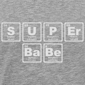 SUPERBABE PERIODIC TABLE OF THE ELEMENTS Manches longues - T-shirt Premium Homme