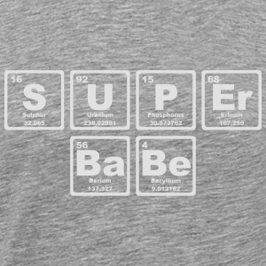SUPERBABE PERIODIC TABLE OF THE ELEMENTS Sudaderas - Camiseta premium hombre
