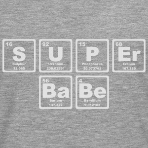SUPERBABE PERIODIC TABLE OF THE ELEMENTS Topper - Premium langermet T-skjorte for menn