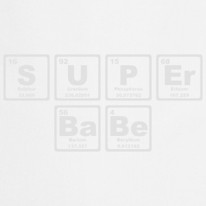 SUPERBABE PERIODIC TABLE OF THE ELEMENTS Topy - Fartuch kuchenny