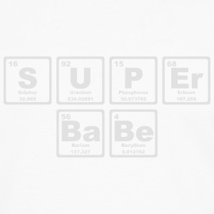 SUPERBABE PERIODIC TABLE OF THE ELEMENTS Otros - Camiseta de manga larga premium hombre