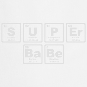 SUPERBABE PERIODIC TABLE OF THE ELEMENTS Manches longues - Tablier de cuisine