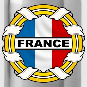 Frnace logo tricolore Sweat-shirts - Gourde