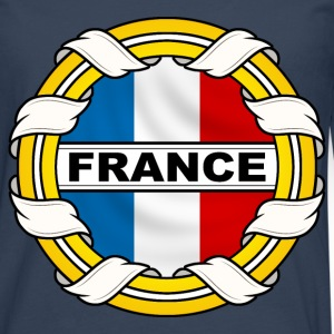 Frnace logo tricolore Sweat-shirts - T-shirt manches longues Premium Homme