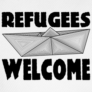REFUGEES WELCOME! T-Shirts - Baseball Cap