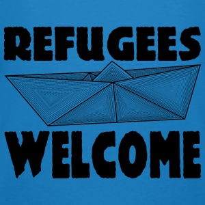 REFUGEES WELCOME! Hoodies & Sweatshirts - Men's Organic T-shirt