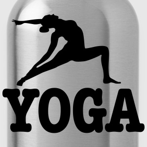 yoga T-Shirts - Water Bottle