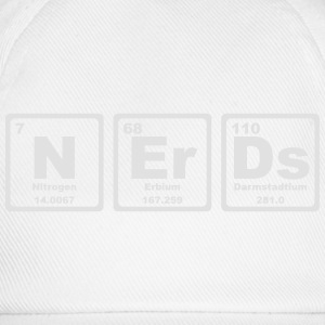 NERDS ELEMENTS OF THE PERIODIC TABLE T-skjorter - Baseballcap