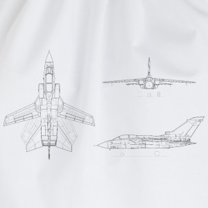 tornado jet fighter - Drawstring Bag