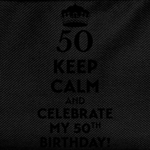 Keep calm and celebrate my 50. Birthday T-Shirts - Kids' Backpack