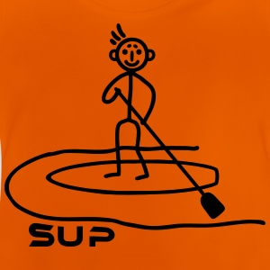 SUP - stick figure Shirts - Baby T-Shirt