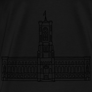 Red City Hall Berlin Hoodies & Sweatshirts - Men's Premium T-Shirt
