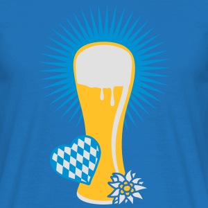 wheat beer glass Hoodies & Sweatshirts - Men's T-Shirt