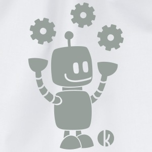 Happy robot - happy robot Shirts - Gymtas