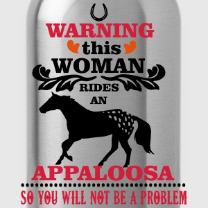 Warning! This woman rides an Appaloosa Tee shirts - Gourde