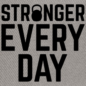 Stronger Every Day Sweatshirts - Snapback Cap