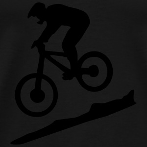 downhill biking - mountain biking Vêtements de sport - T-shirt Premium Homme