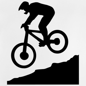 downhill biking - cycling Skjorter - Baby-T-skjorte