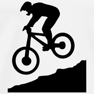 downhill biking - cycling Sweat-shirts - T-shirt Premium Homme