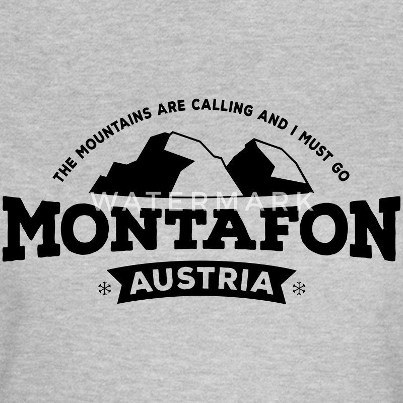 Montafon Mountains T-Shirt - Frauen T-Shirt
