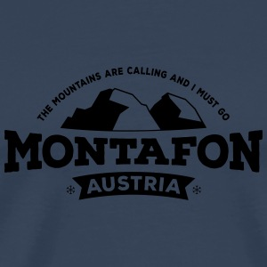 Montafon black Other - Men's Premium T-Shirt