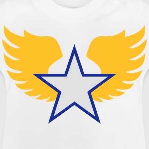 Star and wings  - T-shirt Bébé