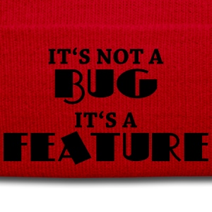 It's not a bug, it's a feature Shirts met lange mouwen - Wintermuts