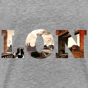 London - Sundipped Pullover & Hoodies - Männer Premium T-Shirt