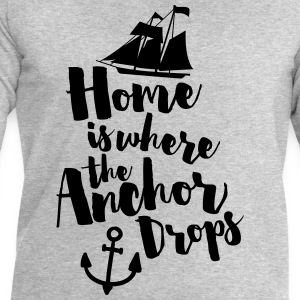 Where The Anchor Drops  Tank Tops - Herresweatshirt fra Stanley og Stella