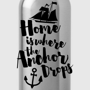 Where The Anchor Drops  Tank Tops - Water Bottle