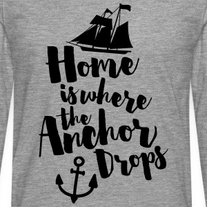 Where The Anchor Drops  Débardeurs - T-shirt manches longues Premium Homme