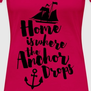 Where The Anchor Drops  Débardeurs - T-shirt Premium Femme