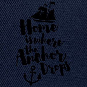 Where The Anchor Drops  T-shirts - Snapbackkeps