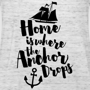 Where The Anchor Drops  Sweat-shirts - Débardeur Femme marque Bella