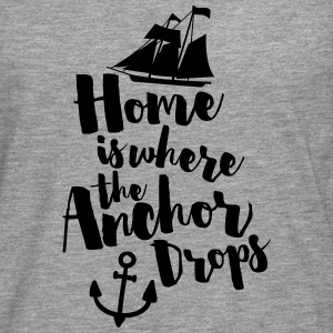 Where The Anchor Drops  Sweat-shirts - T-shirt manches longues Premium Homme