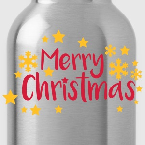 Merry Christmas greeting T-Shirts - Water Bottle