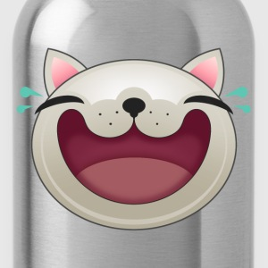 EXPRESSION - HAPPY CAT - Water Bottle