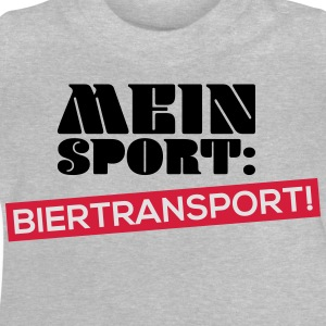 Mein Sport Biertransport T-Shirts - Baby T-Shirt