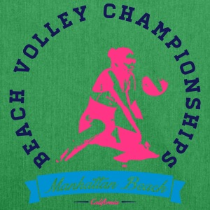 BEACH VOLLEY CHAMPIONSHIP T-Shirts - Shoulder Bag made from recycled material