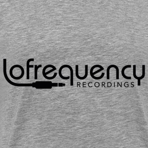 LOFREQUENCY RECORDINGS CLASSIC BLACK Hoodies & Sweatshirts - Men's Premium T-Shirt