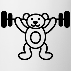 Bodybuilder bear Shirts - Mug