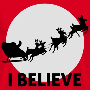 I Believe In Santa Claus Hoodies & Sweatshirts - Men's T-Shirt