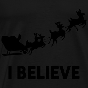 I Believe In Santa Claus Tops - Men's Premium T-Shirt