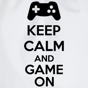 Keep Calm And Game On Sweaters - Gymtas